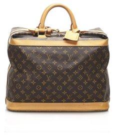 Louis Vuitton-Louis Vuitton Brown Monogram Cruiser 40-Marron