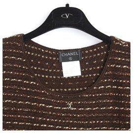 Chanel-BROWN CASHMERE FR2-Brown
