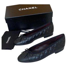 Chanel-Ballet flats-Black