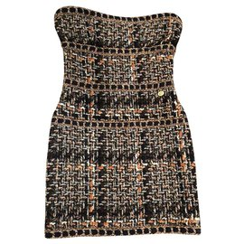 Chanel-new Rome most iconic dress-Beige
