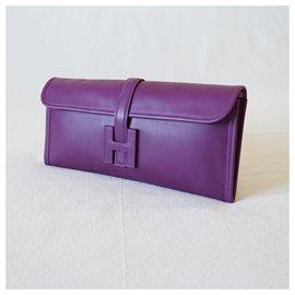 Hermès-Clutch bags-Purple