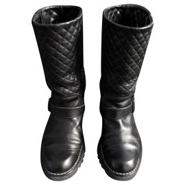 Chanel-Chanel boots-Black