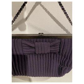 Chanel-Clutch bags-Purple