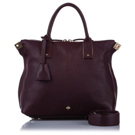 Mulberry-Mulberry Brown Leather Satchel-Brown