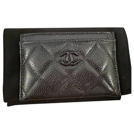 Chanel-Chanel So Black Card Holder-Black