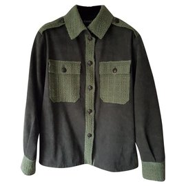Chanel-new Cuba jacket-Khaki