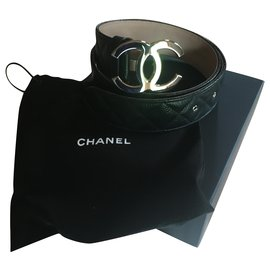 Chanel-Belts-Black