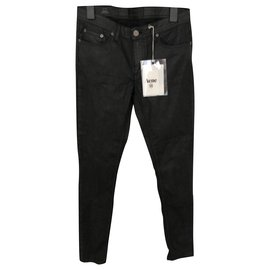 Acne-Black skinny Acne Studios jeans-Black