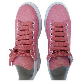 Alexander Mcqueen-Sneakers AMQ Iridescent Pink-Pink