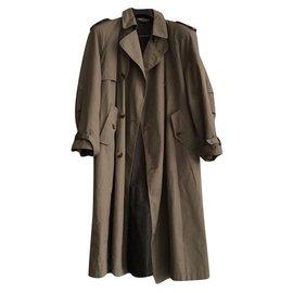 Burberry-Vintage trench coat-Beige