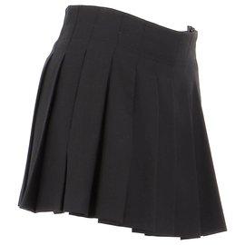 Burberry-Skirt suit-Black