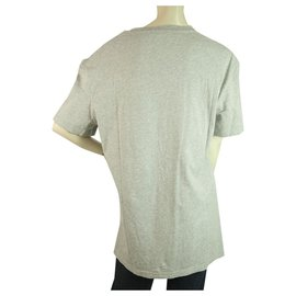 Alexander Mcqueen-McQ Alexander McQueen Gray Cotton Short Sleeves Relaxed T- Shirt Top Size M-Dark grey
