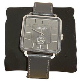 Hermès-Carré H limited edition-Grey