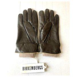 Dirk Bikkenbergs-BIKKEMBERGS NEW MEN'S GLOVES-Dark brown