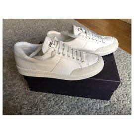 Prada-Prada Sneakers-White
