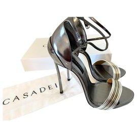 Casadei-FLIP FLOPS-Metallic