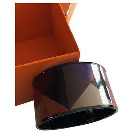 Hermès-Email Bracelet-Multiple colors