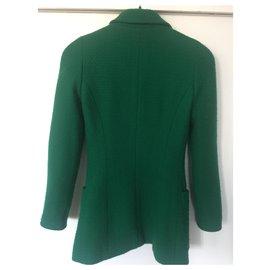 Chanel-Jacket-Green