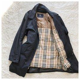 Burberry-BURBERRY  London Bal collar down coat-Black