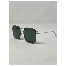 Dior-DiorStellaire1 Des lunettes de soleil-Marron,Bijouterie dorée