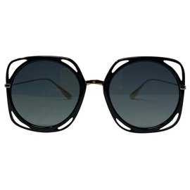 Dior-DIOR SUNLGASSESS DIOR DIRECTION-Black,Golden