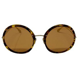 Dior-dior sunglasses occhiali da sole logo DIOR HYPNOTIC 1-Brown,Orange
