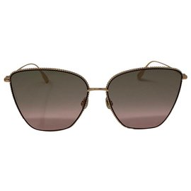 Dior-lunettes de soleil dior logo DIOR SOCIETY 1 DDB86-Rose,Doré