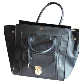 Céline-Céline Mini Luggage-Black