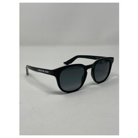 Dior-DIORB24.2 Black pantos sunglasses-Black