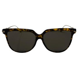 Dior-sunglasses DIOR LINK 3F 08670 Frame Color Dark Havana and Gold-Brown,Gold hardware