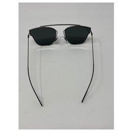 Dior-DIOR HOMME SUNGLASSES 0204S Dk Ruthen / Gray Lenses-Black