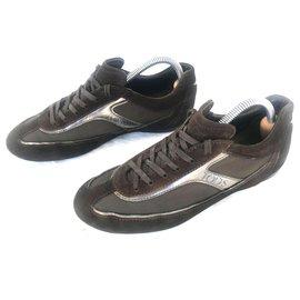 Tod's-Sneakers-Brown