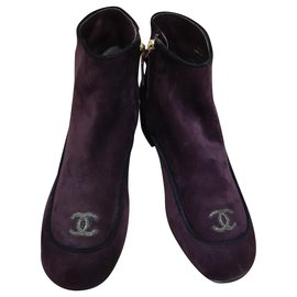 Chanel-Chanel ankle boots-Multiple colors