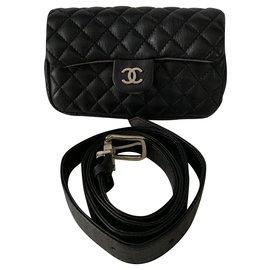 Chanel-Chanel Uniform Belt Bag-Black
