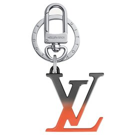 Louis Vuitton-LV Spray bag charm new-Orange