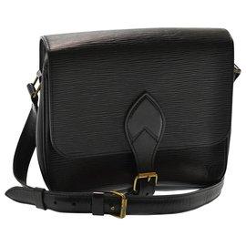 Louis Vuitton-Louis Vuitton Shoulder Bag-Black