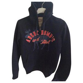 Abercrombie & Fitch-Sweaters-Navy blue