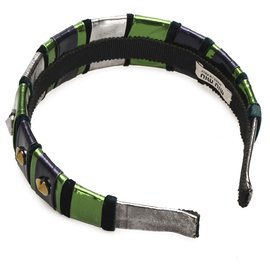 Miu Miu-Miu Miu Green Studded Headband-Multiple colors,Green