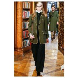 Chanel-6K$ Paris-Salzburg coat-Khaki