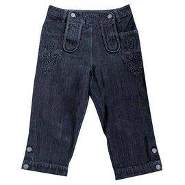 Chanel-Pantalon en jean Paris-Salzburg-Bleu foncé