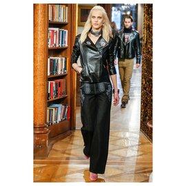 Chanel-Paris-Salzburg denim pants-Dark blue