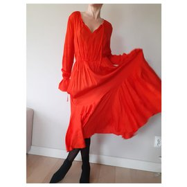 & Other Stories-Robes-Rouge