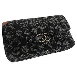 Chanel-Sacs à main-Noir