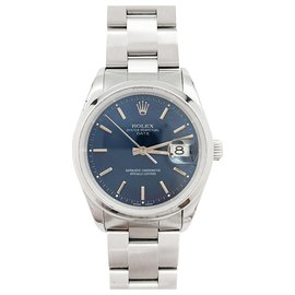 """Rolex-Rolex """"Oyster Perpetual Date"""" watch in steel.-Other"""