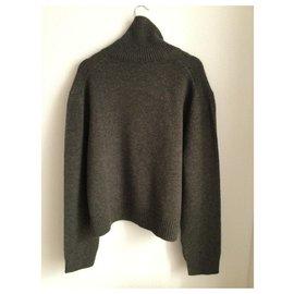 Céline-Knitwear-Grey