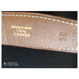 Hermès-Belts-Black,Cognac