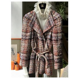 Chanel-9K$ Greece lesage tweed jacket-Beige