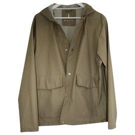 Rains-Windproof rain coat-Beige