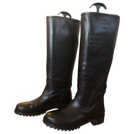 Dior-boots-Noir
