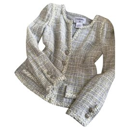 Chanel-very rare tweed jacket-Multiple colors